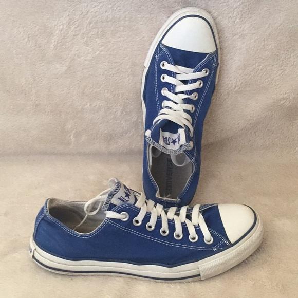 Royal Blue Converse | Poshmark